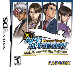 Фотография Ace Attorney: Trials and Tribulations DS Cover