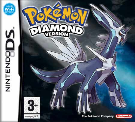 Фотография Pokemon Diamond cover