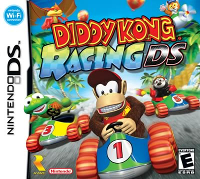 Фотография Diddy Kong Racing DS Cover
