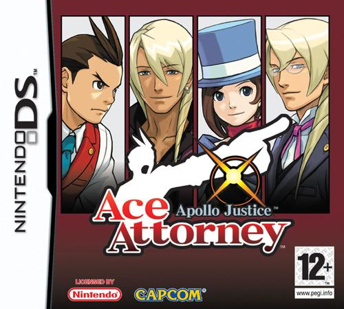 Фотография Apollo Justice: Ace Attorney Cover
