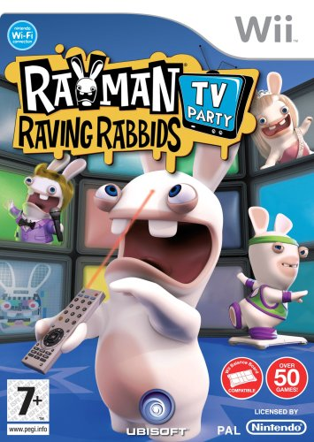 Фотография (Cover) Rayman Raving Rabbids TV Party