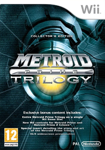 Фотография Metroid Prime: Trilogy (cover)