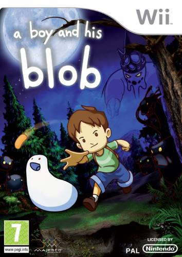 Фотография A Boy and His Blob (cover)