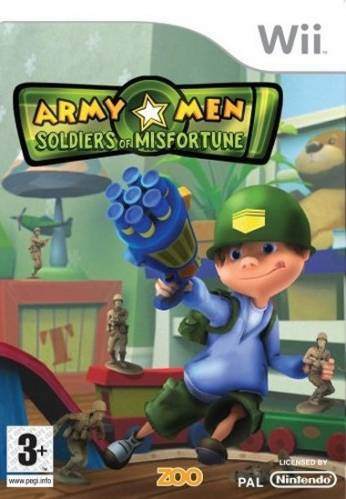 Фотография Army Men: Soldiers of Misfortune (cover)
