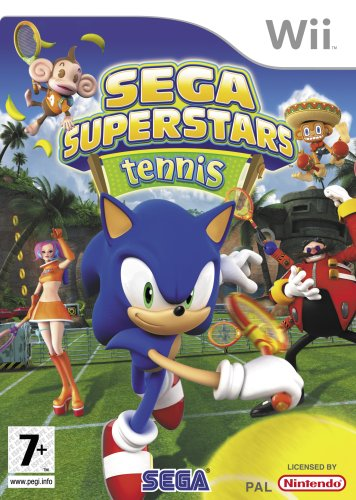 Фотография (Cover) Sega Superstars Tennis