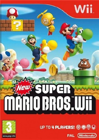 Фотография New Super Mario Bros. Wii (cover)