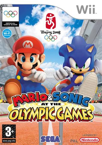 Фотография Mario and Sonic at the Olympic Games (cover)
